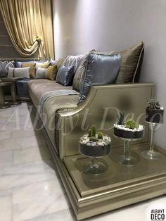 Moroccan Home Decor, Luxury Sofa, Sofa Design, Home Interior Design, Living Room Designs, Sweet Home, House, Furniture, Image