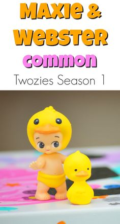 Maxie and Webster - Boy Duck Pair - Twozies Season 1