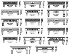 mantel with corbels | Ideas for Mantel Shelves & Corbels