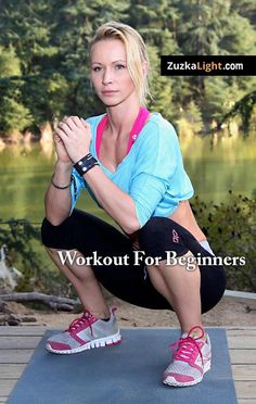 Body weight workout for beginners to work up to the regular HIIT workouts.