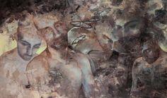 Dybbuk |160x200cm | Tuval üzerine karışık teknik (Mixed technique on canvas), 2013