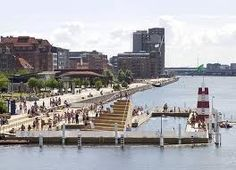 Urban Beach at Islands Brygge. Swimming in Copenhagen Harbour - Islands Brygge Copenhagen Attractions, Capital Of Denmark, Visit Denmark, Copenhagen Denmark, Best Cities, Tourism, Places To Visit, Swimming, World