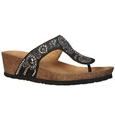 Dreaming of sandal weather...trying to decide which White Mountain beaded ones to buy this year, I have bought a pair every year for the past 3 & have worn them out each season! Fabulously comfy.