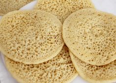 Baghrir (Marokkaanse pannenkoeken)