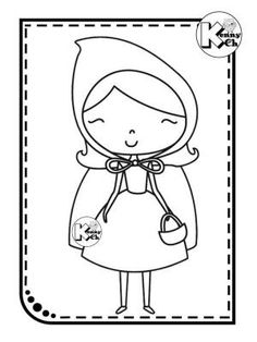 20 printable Little Red Riding Hood coloring pages for