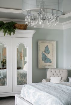 Vintage Whites Blog: A Rustic, Charming Home with Class SW Sea Salt