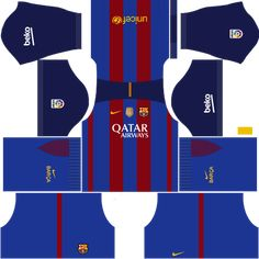 Download Your Favorite Barcelona Kits For Your Team In Dream League Soccer Check Out The 1999 2000 Season Kit Its The Coolest Item
