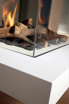 Unparalleled design.  Dru gas fires. Now on fire in our Wadebridge Showroom   #Dru #GasFires  #Cornwall #Gas #showroom #fireplace #modern #contemporary #display #design #kernowfires #wadebridge #cornwall