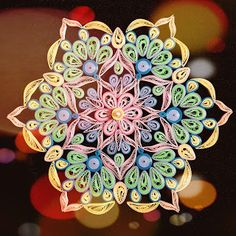Indian Quilling Challenge: 2018