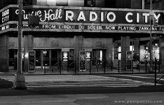 Radio City Music Hall, Night (#5)   Manhattan. New York by Paul Politis