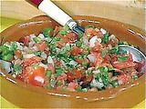 Pico de Gallo - (add garlic and chilli).