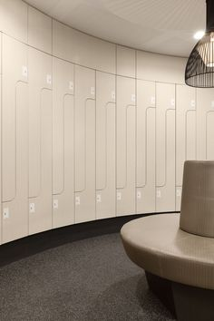 Church Interior Design, Interior Architecture, Office Lockers, Locker Designs, Gym Decor, Gym Room, Spa Rooms, Spa Design, Changing Room