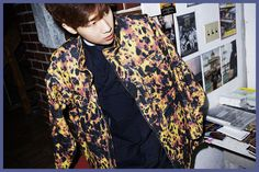 KIM SUNG KYU - 27 Kim Sung Kyu, Bomber Jacket, Button Down Shirt, Men Casual, Infinite, Blouse, Mens Tops, Jackets, Shirts