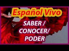 Испанский язык. Глаголы Saber / Conocer / Poder. - YouTube
