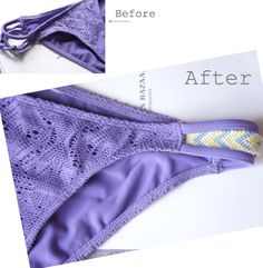 DIY friendship bracelet bikini. Love this!!