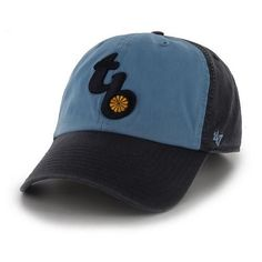 Tampa Bay Rays Hat '47 Brand Clean Up Throw Back Logo