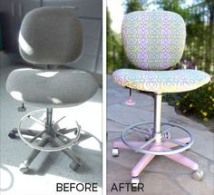 office chair makeovers