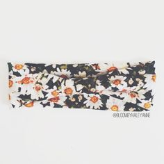 bloomADULT stretch headband with option of knot or knot bow