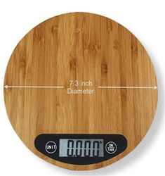Refined-bam Food Scale Slim Design Eco-friendly Bamboo Kitchen Scale - Buy Bamboo Kitchen Scale,Digital Kitchen Scale Product on Alibaba.com