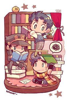 Jonathan, Jotaro, & Joseph
