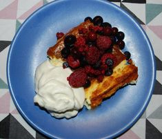 LCHF ostkaka Love Cake, Stevia, Lchf, Waffles, French Toast, Low Carb, Breakfast, Food, Pies