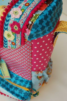 Back pack for wheelchairs