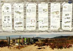 Proyectos de España, Austria y Alemania, premiados por diseños de vivienda temporal para surfistas,Mención Honrosa. Image Cortesia de reTHINKING competitions