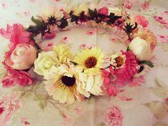 Coroa de flores Romantic