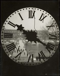 Clock of the Académie Française, 1929 / Andre Kertesz / Christie's