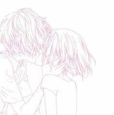Manga Art, Manga Anime, Anime Art, Pink Aesthetic, Aesthetic Anime, Pink Wallpaper Anime, Fotos Goals, Manga Couple, Pink Themes