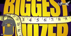 T-shirts - Design: The Biggest Boozer - by: Boggs Nicolas