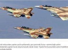 Ισραηλινά μαχητικά αεροπλάνα χτύπησαν στόχους που ανήκουν στο στρατό της Συρίας…
