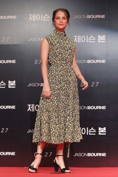 Celine - Style Crush: Alicia Vikander  - Photos