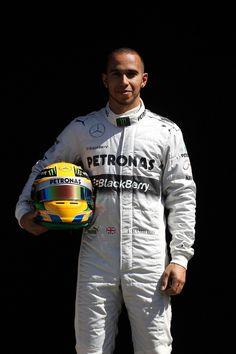 Round 1, Rolex Australian Grand Prix 2013, Preparation, #10 Lewis Hamilton (GBR), Driver, Mercedes AMG Petronas F1 Team