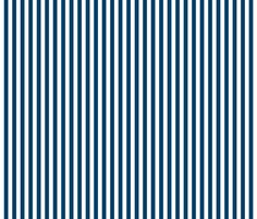 stripes vertical navy blue custom fabric by misstiina for sale on Spoonflower