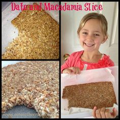 Cut Out The Crap | Date & Macadamia Slice RECIPE