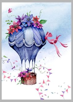Victoria Nelson, воздушный шар