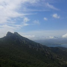 Zona Volterraio e veduta sull'omonimo castello, Rio nell'Elba