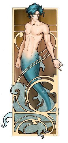 Merman by Anne Cain.