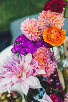 FLOWER POWER Table Decor