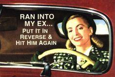 Ran into my ex...