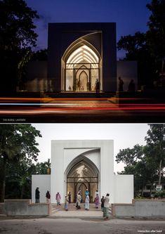 The Rural Lantern Mosque Architecture, Sacred Architecture, Religious Architecture, Futuristic Architecture, Classical Architecture, Chinese Architecture, Architecture Office, Architecture Concept Drawings, Architecture Portfolio