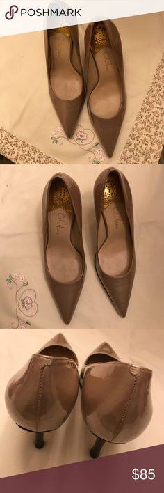 "🔴BEAUTIFUL MATTE GOLD COLE HANN NIKE 🔴 ""FINAL PRICE DROP ""BEAUTIFUL MATTE GOLD PATENT LEATHER COLE HANN WITH NIKE COMFORT. HEELS ARE 3.5 "". GENTLY WORN. THERE ARE SOME MINOR BLEMISHES. DOES NOT EFFECT THE BEAUTY OF THE SHOES. GENTLY WORN. INCREDIBLY COMFORTABLE HEELS. PLEASE LOOK AT PHOTOS. Cole Haan Shoes Heels"