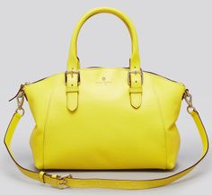 Kate Spade Charlotte Street Small Sloan Satchel...Oh well Hello Yellow!