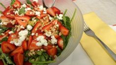 Curried Quinoa and Strawberry Salad - Colleen's Kitchen