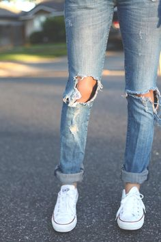 looks para se inspirar, inspiration , looks, outfits, style, street style, estilo , fashion, moda, jeans, ripped, rasgado, ripped jeans, jeans rasgado