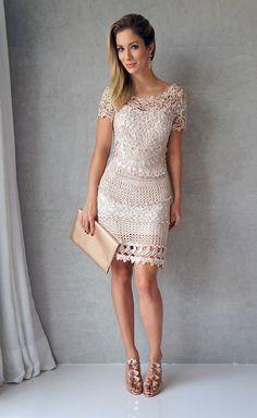 Наконец-то!!! Нашла время снять порядок вязания безупречного платья от великолепной Ванессы Монторо!