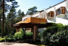 Alvar Aalto - Villa Mairea, Finland #architecture #house