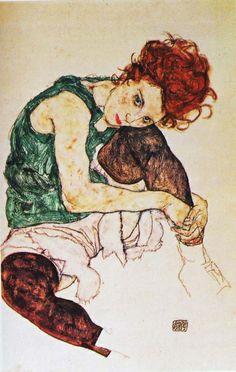 Wally Neuzil, the muse of Egon Schiele