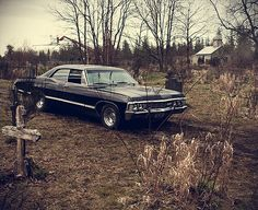 Chevy Impala 1967. What would this board be without it. (yes, I am a huge Supernatural fan....)